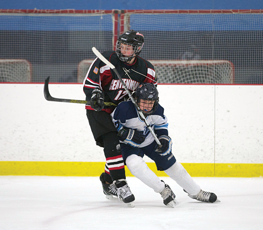 Under the new Progressive Checking Skill Development Program, players are still encouraged to be aggressive as they battle for the puck by maintaining proper angling and body positioning skills.
