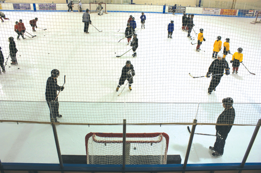 The ADM-style practices give youth players the opportunity to improve their game while learning  from the pros.