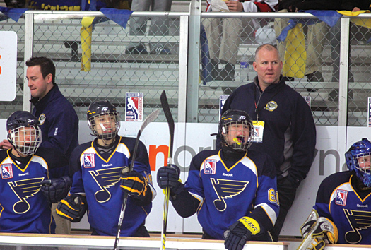 After 19 seasons in the NHL, Hall of Famer Keith Tkachuk is passing on his considerable hockey knowledge to the next generation of players in St. Louis, including his 14-year-old son, Matthew.