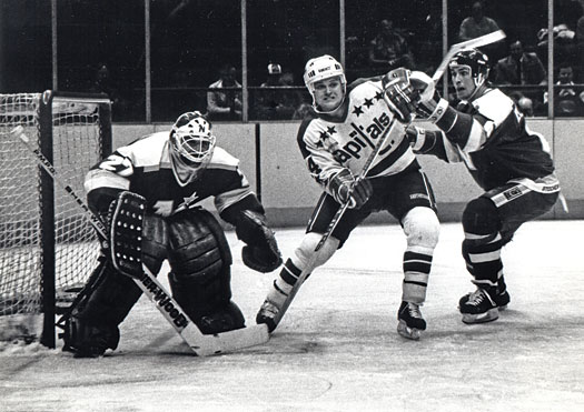 """Bryan """"Butsy"""" Erickson ranks his college days at the top of his favorite hockey memories."""