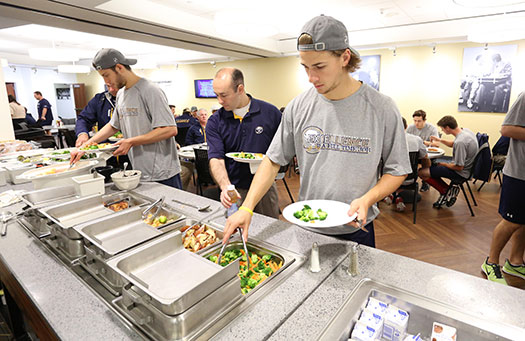 During the season, NHL teams keep a close eye on what players eat to ensure that they make careful dietary choices that will give them the fuel they need to perform at their best.