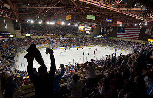Returning home to play for the Alaska Aces is as exciting for Nate Thompson, Brandon Dubinsky and Joey Crabb as it is for the faithful fans who pack Sullivan Stadium on game nights.