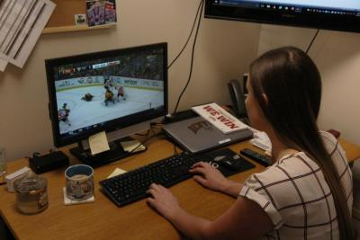 Kelsey's main responsibilities include video work for the program, as well as operational duties and travel