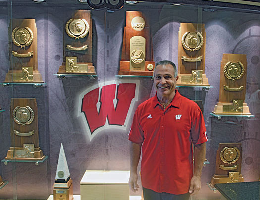 At Wisconsin, Bill Butters will join former teammate Mike Eaves, who is in his 10th season as the head coach of the Badgers.