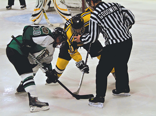 Some of the most talented  players from throughout New England don't have to go far to find top-notch Junior hockey competition.