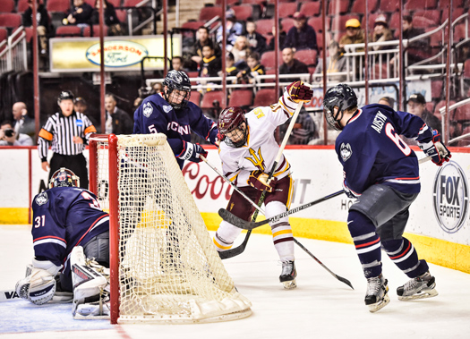 The Desert Classic was an opportunity  for Arizona State University to showcase college hockey at its finest.
