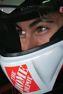 Whether it was stopping pucks or racing around a track, Joey Logano has always had a need for speed.
