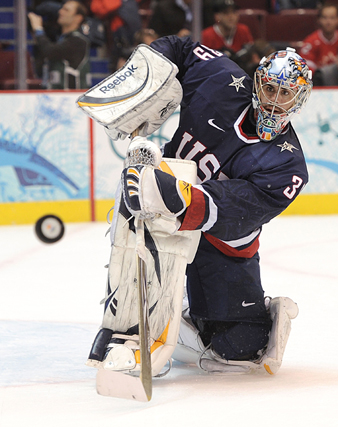 Ryan Miller gave U.S. fans plenty to cheer about during the 2010 Olympic Winter Games in Vancouver