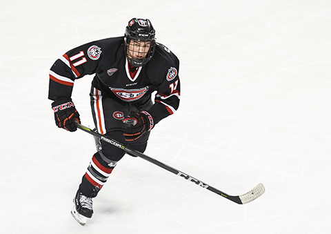 Poehling is the first player to play in the WJC during his junior year of NCAA play since Michigan's Al Montoya in 2005.